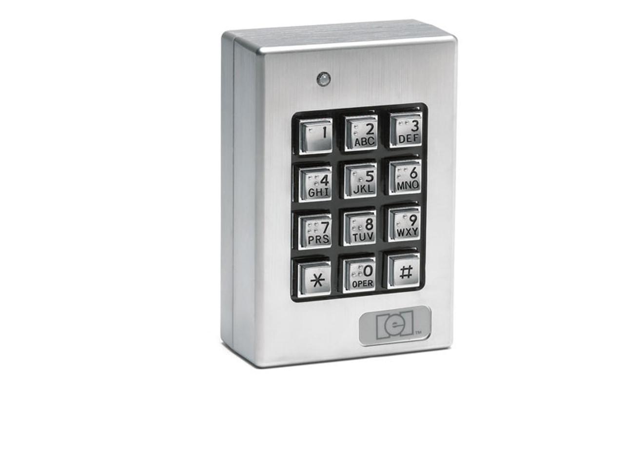 Linear IEI 212i Indoor Flush-mount Keypad Stand-alone Access Control Keypad
