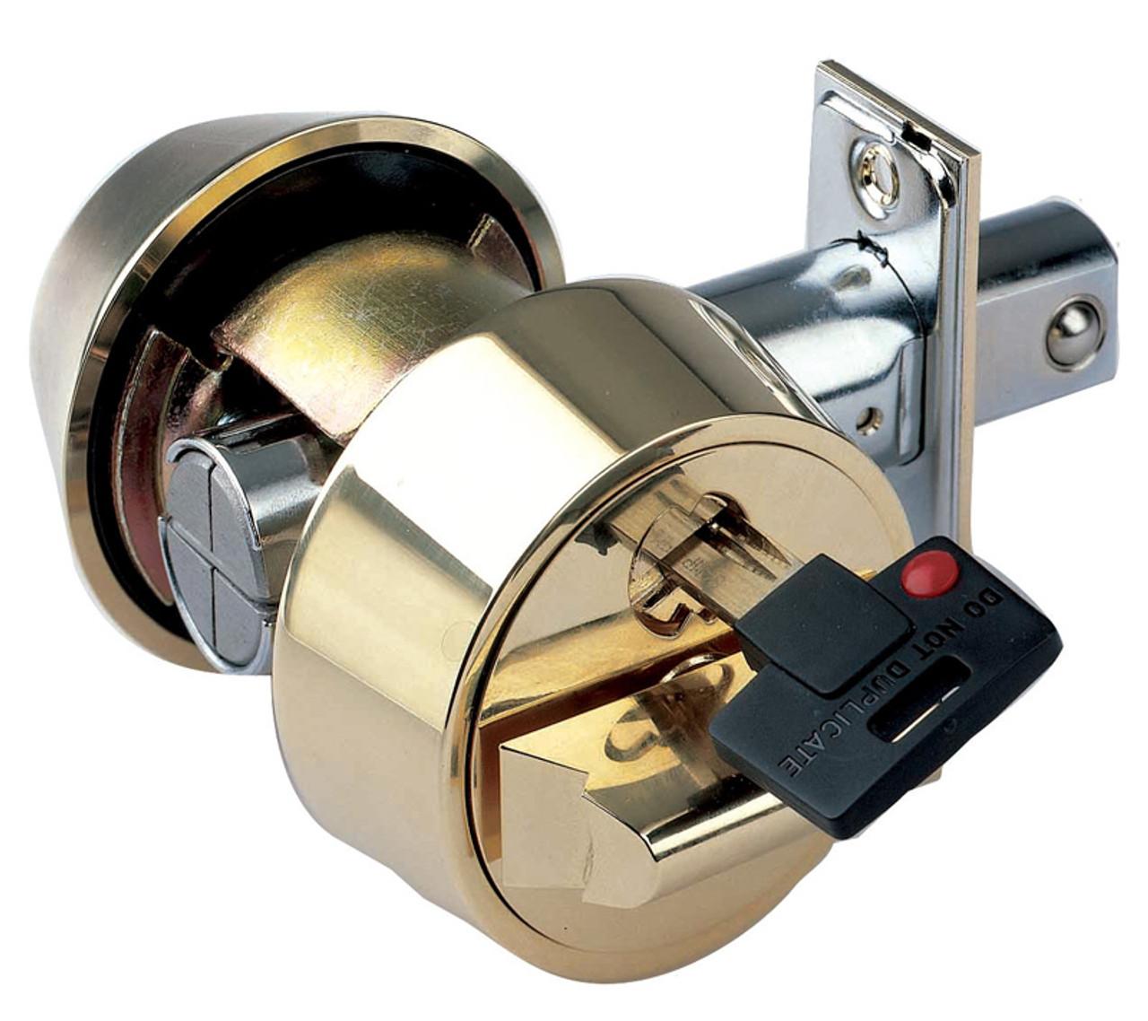 Mul T Lock Hercular Double Cylinder Captive Key Deadbolt