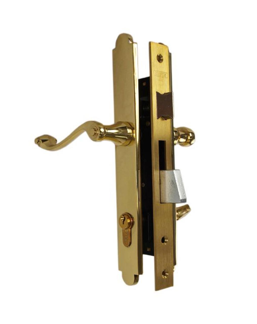 Marks Lock Thinline Mortise Lockset 2750 Series For Storm Door & Screen Door