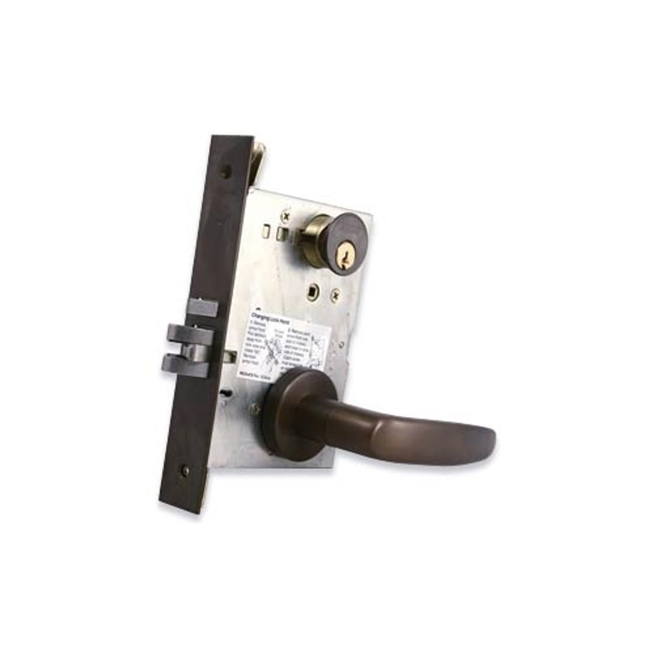 schlage l9000 series mortise lock w   cylinder
