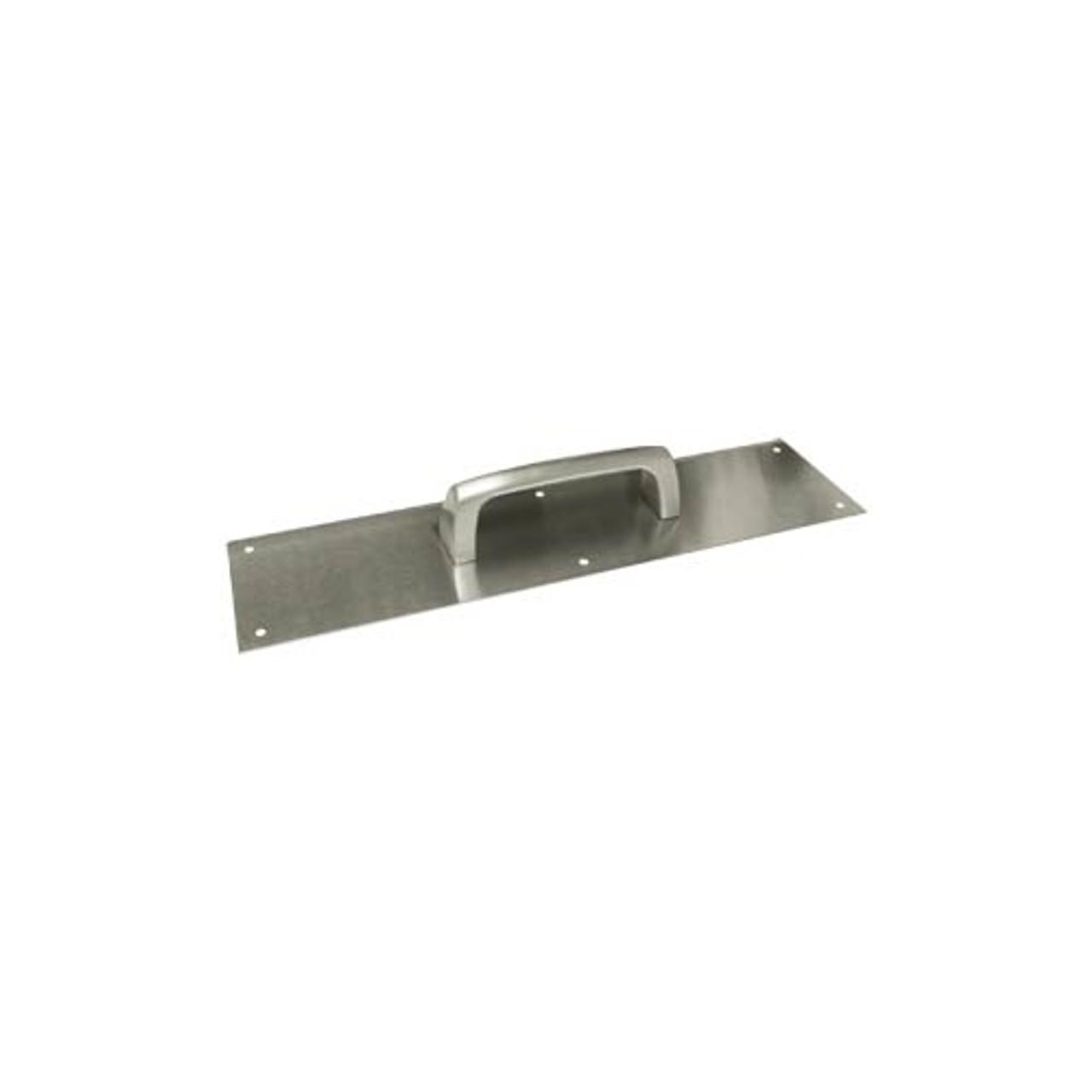 Hager 30S Door Push Plate 4x16 US4 Satin brass