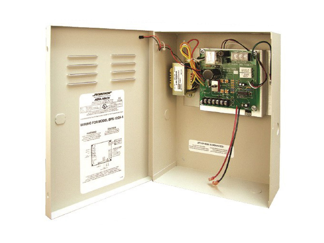 24V DC 1 Ampere Securitron BPS-24-1-CH Power Supply