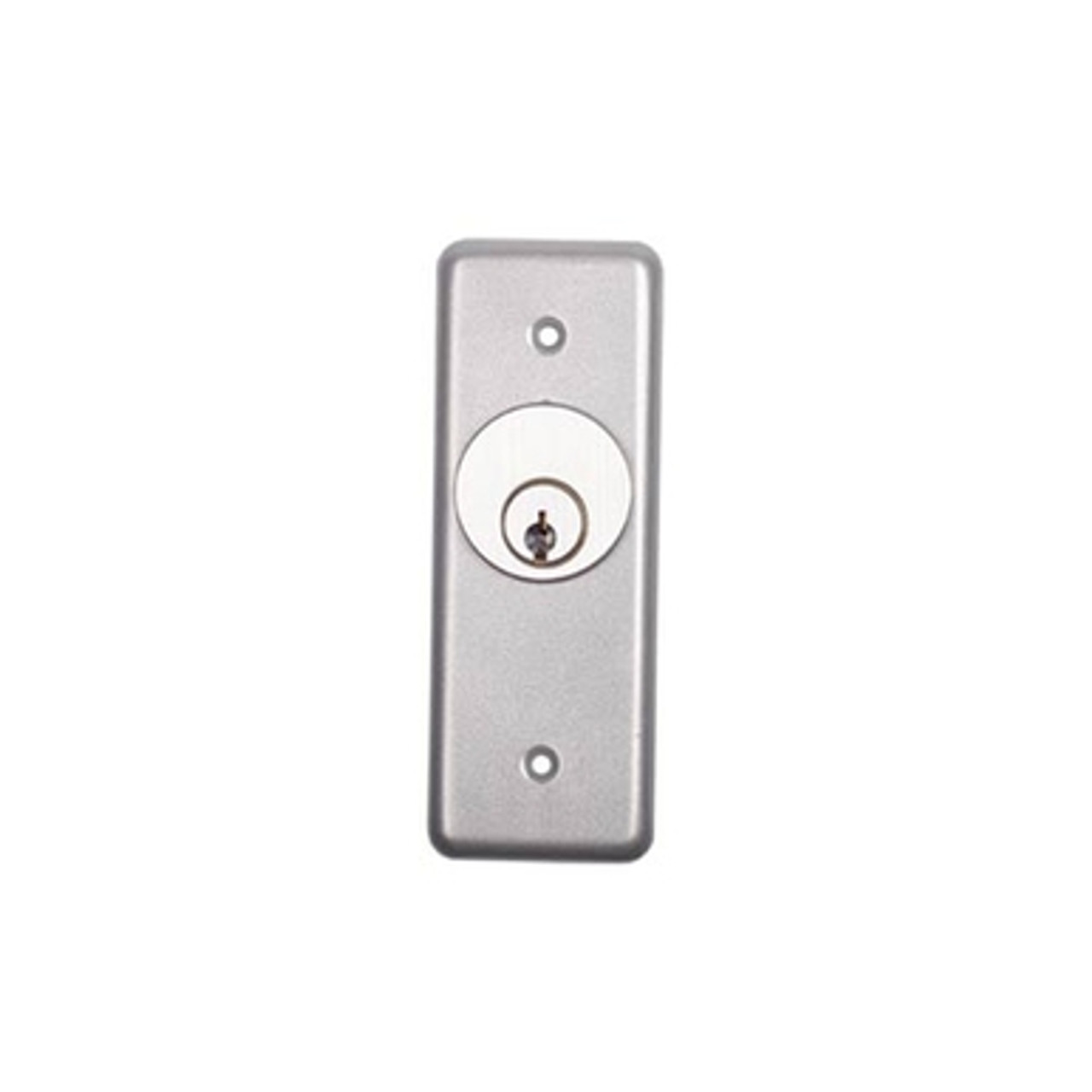 ETI NS011 NS Series Narrow Stile SPDT Momentary Key Switch w/ Faceplate