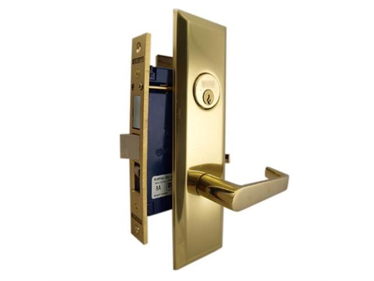 Marks 116A Entrance Metro Apartment Mortise Lockset W/ Lever Handle
