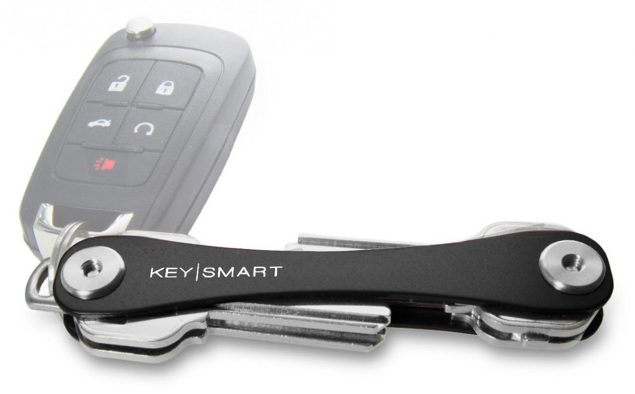 KeySmart Extended Black Premium Pocket Key Organizer & Key Holder