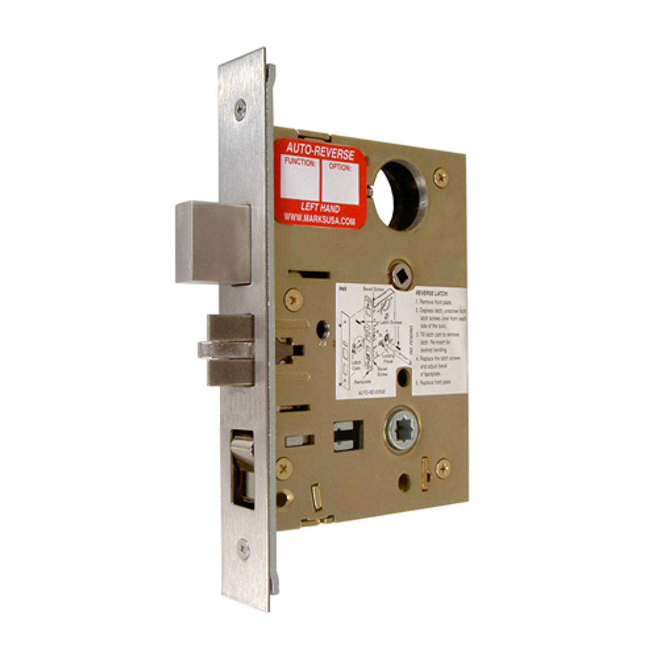 Marks Usa 5 Series Mortise Lock Body Front 1 1 4 Quot X 8