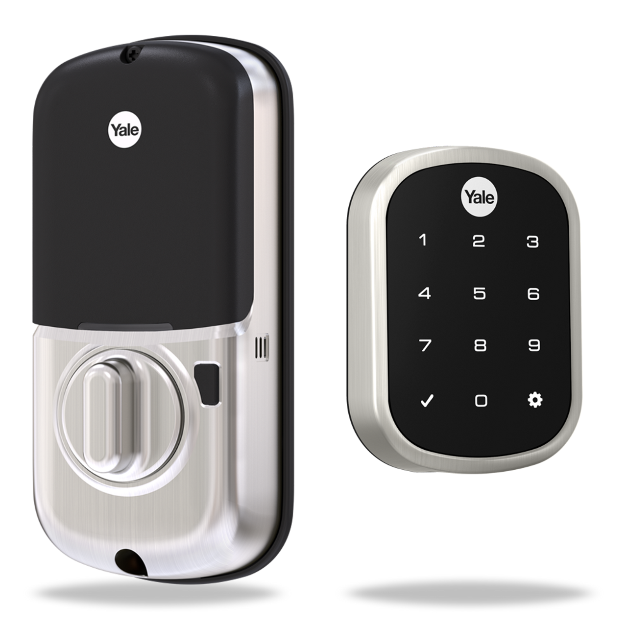 Yale Real Living YRD256-NR-619 Assure Lock SL Key Free Touchscreen Deadbolt
