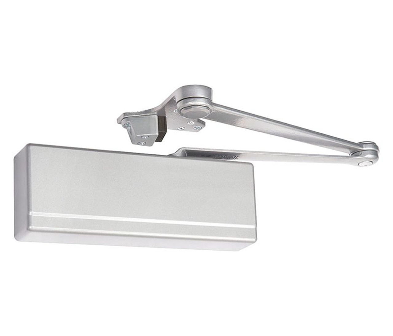 Picture of: Sargent 281 Cps Tb En Surface Door Closer Heavy Duty Parallel Arm With Compression Stop Thru Bolts