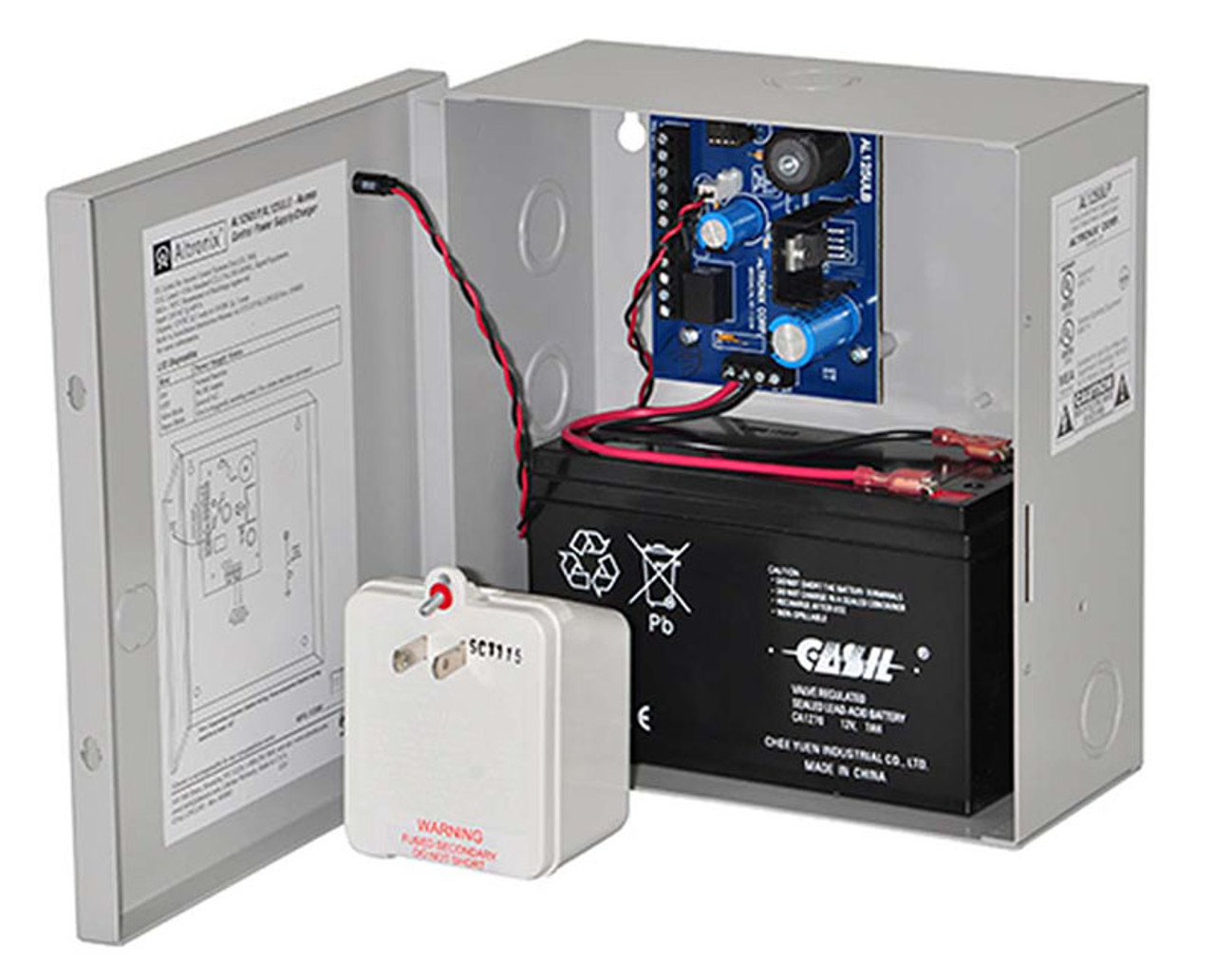 Altronix AL125ULP Power Supply Power Supply/Charger 24VAC 40VA from UL  Listed Class 2 Transformer 2 PTC Outputs