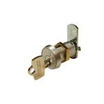 """Olympus Lock B7A-26D-0BIT Best """"A"""" Keyway Utility Cam Lock 0-Bitted"""