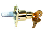 John Sterling - Bypass Sliding Door Lock 1068 Brass