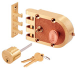 Segal - Single Cylinder Jimmy Proof Interlocking Slam Lock Deadbolt