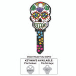 Lucky Lline Sugar Skull B136 Key Shapes Key Blanks