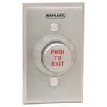 621AL RD EX DA Schlage Electronics Pushbutton