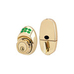Master Lock DSKP Electronic Keypad Deadbolt (Polished Brass)