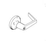 AU5390LN 626 24V Yale Electric Cylindrical Lock