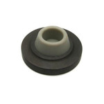 Ives WS402-CCV-10B Wall Bumper-Concave Rubber