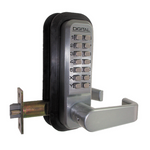 Lockey 2835 DC Double Combination Lever Handle Lock with Passage Function Keyless Lock
