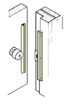 Don-Jo ILP-206 Latch Protector For Inswinging Doors
