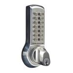 CodeLocks CL300 Series CL310K Tubular Deadbolt w/ Key Override