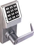 Alarm Lock DL2700-26D Trilogy T2 Push Button Lock Satin Chrome