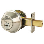 Mul-T-Lock Junior 008J-MD1-32D Single Cylinder Deadbolt Satin Stainless Steel