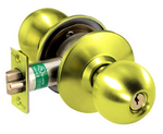 Arrow H Series H01BB- 3 Grade 1 Passage Door Knob Bright Brass