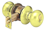 Arrow H Series H02TB-3 Grade 1 Privacy/Bathroom Door Knob Bright Brass
