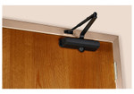 Norton 1601 693 Tri-Packed Door Closer Adjustable Size 3-6 Black Painted