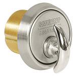 """argent 124-41-32D Turn Knob Mortise Cylinder 1-1/8"""" Standard Sargent Cam"""
