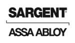 "Sargent 21-2339 26D Latch Assembly - 5"" Backset Satin Chrome"