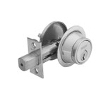Sargent 475 26D Single Cylinder Deadbolt Adjustable Backset Satin Chrome