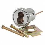 Sargent 6034 32D LFIC Rim Cylinder Housing Satin Stainless Steel