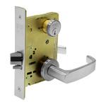 Sargent 8271-24V LNL 26D Fail Secure 24V Electrified Mortise Lock LN Rose L Lever