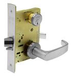 Sargent 70RX-8271-24V LNL 26D Fail Secure, 24V Electrified Mortise Lock LN Rose L Lever SFIC Prep