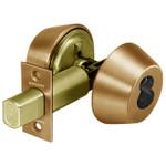"Sargent 60-484 10 Satin Bronze Double Cylinder Deadbolt 2-3/4"" Backset LFIC Prep Less Core"