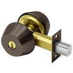 "Sargent 60-484 10B Oil Rubbed Bronze Double Cylinder Deadbolt 2-3/4"" Backset LFIC Prep Less Core"