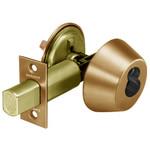 """Sargent 60-485 10 Satin Bronze Single Cylinder Deadbolt 2-3/4"""" Backset LFIC Prep"""