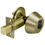 """Sargent 60-485 4 Satin Brass Single Cylinder Deadbolt 2-3/4"""" Backset LFIC Prep"""