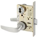 Sargent 60-8204 LNB 32D Storeroom/Closet Mortise Lock LN Rose B Lever LFIC Prep
