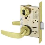 Sargent 60-8204 LNB 4 Storeroom/Closet Mortise Lock LN Rose B Lever LFIC Prep