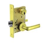 Sargent 60-8237 LNE 3 Classroom Mortise Lock LN Rose E Lever LFIC Prep