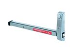 "Arrow 430G 26D 48"" Exit Alarm Auto Re-latching Satin Chrome"
