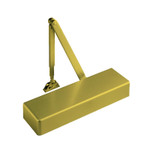 """Yale TJL4400 696 Door Closer Top Jamb w/ 2-3/4"""" to 7"""" Reveals Size 1-6 Brass Painted"""