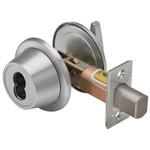 "7T37MSTK626T Series Tubular Deadbolt 2-3/4"" Backset 7-Pin Housing; Accepts all BEST Cores Double -Keyed x CS-Standard"