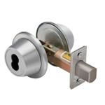 "Best 8T3-KLSTK626 T Series Tubular Deadbolt 2-3/4"" Backset Non-Keyed x Turnknob Standard Deadbolt"