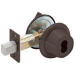 """Best 8T27KSTK613 T Series Tubular Deadbolt 2-3/8"""" Backset 7-Pin Housing"""