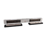 DynaLock 2522 DSM2 Maglock Double Electromagnetic Mini Lock Outswing Door Switch Monitor 12/24VDC