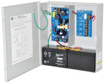Altronix AL400ULPD4CB Power Supply/Charger Input 115VAC 60Hz at 3.5A 4 PTC Outputs 12VDC at 4A or 24VDC at 3A