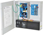 Altronix AL400ULPD8CB Power Supply/Charger Input 115VAC 60Hz at 3.5A 8 PTC Outputs 12VDC at 4A or 24VDC at 3A